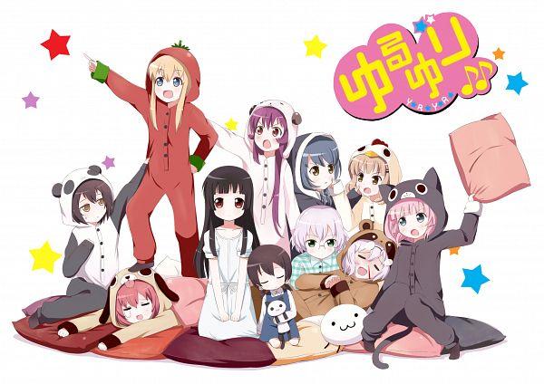 Tags: Anime, Linda B, Yuru Yuri, Ikeda Chitose, Yoshikawa Chinatsu, Mari (Yuru Yuri), Funami Yui, Furutani Himawari, Matsumoto Rise, Toshinou Kyouko, Ikeda Chizuru, Akaza Akari, Sugiura Ayano