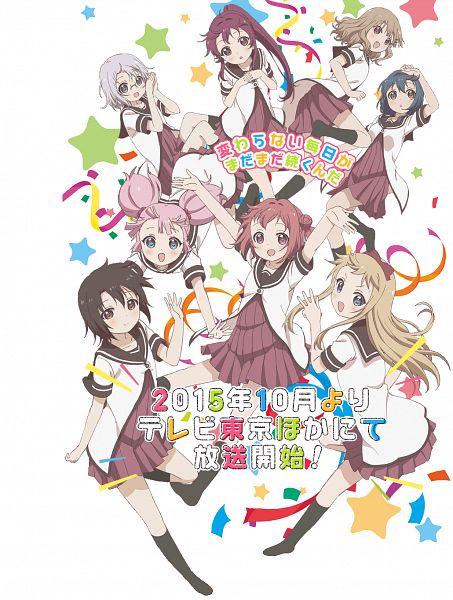Tags: Anime, Taniguchi Motohiro, TYO Animations, Yuru Yuri, Funami Yui, Yoshikawa Chinatsu, Furutani Himawari, Toshinou Kyouko, Sugiura Ayano, Akaza Akari, Ikeda Chitose, Oumuro Sakurako, PNG Conversion
