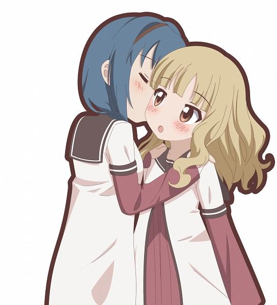 Tags: Anime, Pixiv Id 2901782, Yuru Yuri, Oumuro Sakurako, Furutani Himawari