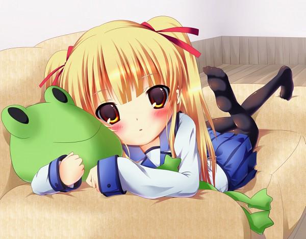 Tags: Anime, Futakabe, Angel Beats!, Yusa (Angel Beats!), Stuffed Frog