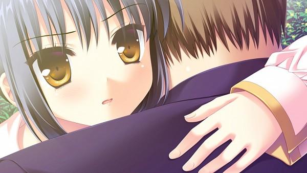 Tags: Anime, Hooksoft, SuGirly Wish, Shirosaki Junpei, Yusa Kurumi, Wallpaper, CG Art