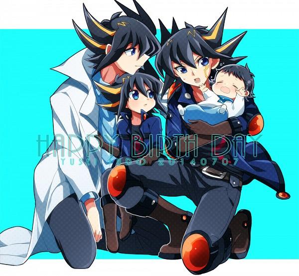 Tags: Anime, Pixiv Id 9713212, Yu-Gi-Oh! 5D's, Yu-Gi-Oh!, Yusei Fudo, Fanart From Pixiv, Fanart, Pixiv