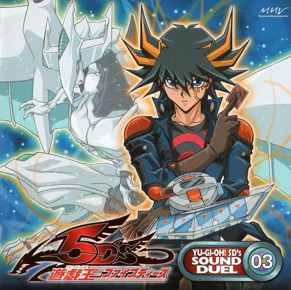 Tags: Anime, Yu-Gi-Oh! 5D's, Yu-Gi-Oh!, Yusei Fudo, Shooting Star Dragon, Official Art