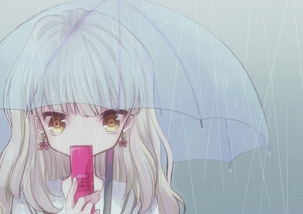 Tags: Anime, Pixiv Id 46301, VOCALOID, MAYU (VOCALOID), See Through Umbrella, Transparent Object, Yuudachi no Ribon, Pixiv, A Ribbon Of Sudden Evening Showers