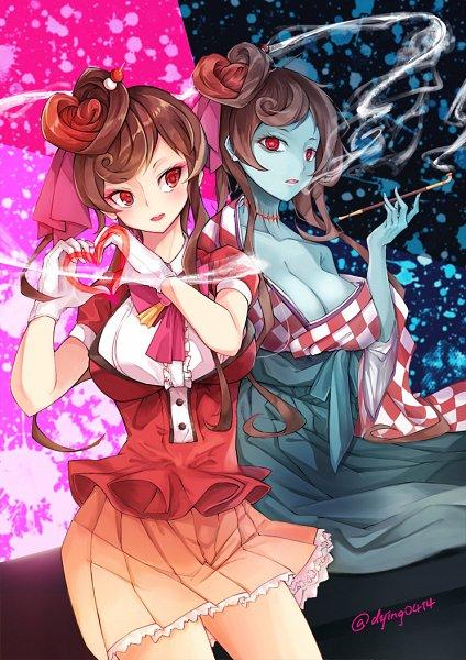 Tags: Anime, Pixiv Id 2326250, Zombieland Saga, Yuugiri (Zombieland Saga)