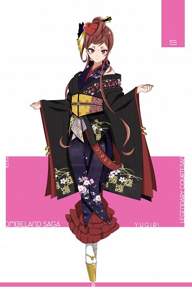 Tags: Anime, Pixiv Id 27369259, Zombieland Saga, Yuugiri (Zombieland Saga), Pixiv