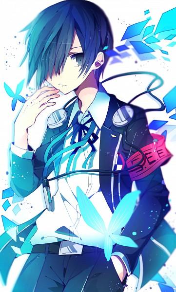 Tags: Anime, Pixiv Id 4203716, Shin Megami Tensei: PERSONA 3, Yuuki Makoto (PERSONA 3), Fanart From Pixiv, Fanart, PNG Conversion, Pixiv