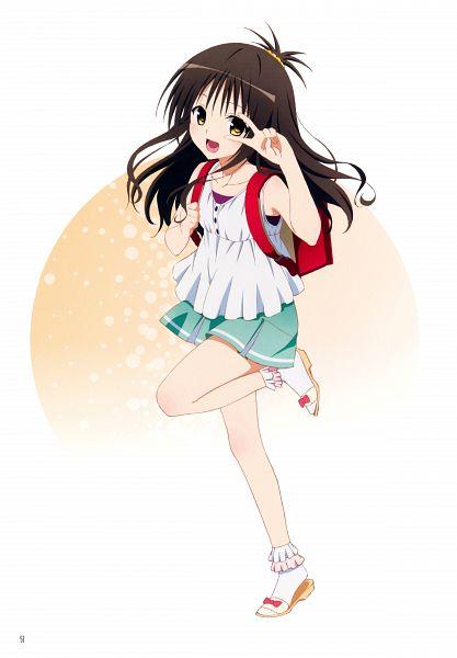 Tags: Anime, To LOVE-Ru, Yuuki Mikan, Official Art, Scan, Mobile Wallpaper