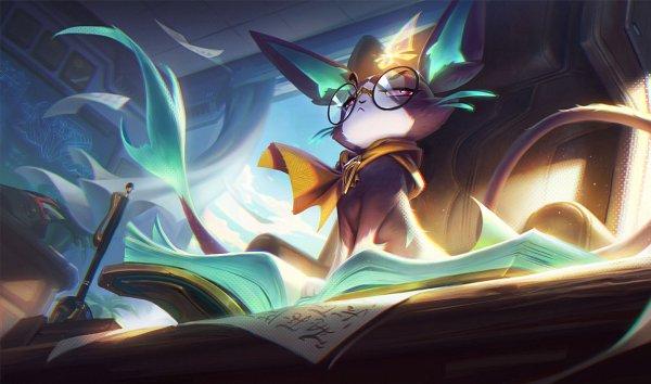 Tags: Anime, League of Legends, Yuumi (League of Legends), Official Art