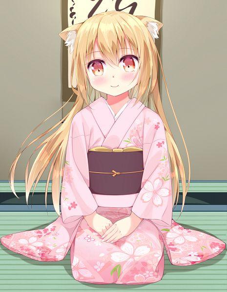 Tags: Anime, Pixiv Id 10445534, Konohana Kitan, Yuzu (Konohana Kitan)