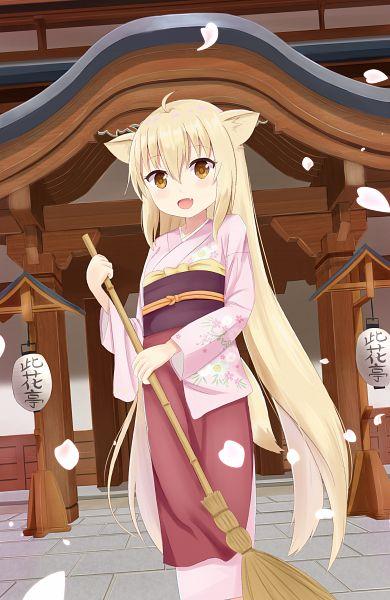 Tags: Anime, Pixiv Id 3237998, Konohana Kitan, Yuzu (Konohana Kitan)