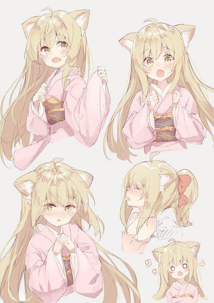Tags: Anime, Pixiv Id 7695536, Konohana Kitan, Yuzu (Konohana Kitan), Character Sheet
