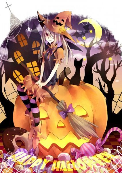 Tags: Anime, Yuzuki Karu, Pixiv Girls Collection, Pixiv Girls Collection 2010, Candy Cane, Familiar (Mythology), Pixiv, Mobile Wallpaper, Original