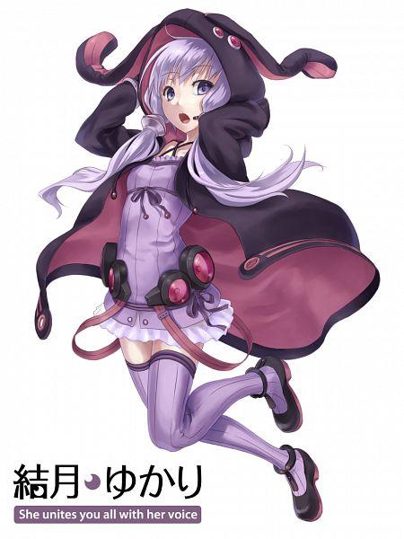 Tags: Anime, 1011003 (Artist), Voiceroid, VOCALOID, Yuzuki Yukari, Black Hoodie, Purple Legwear, Open Hoodie, Pixiv, Mobile Wallpaper, Fanart, Fanart From Pixiv, PNG Conversion