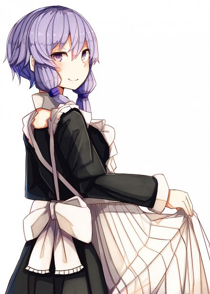 Tags: Anime, Pixiv Id 5282371, Voiceroid, VOCALOID, Yuzuki Yukari, PNG Conversion, Mobile Wallpaper