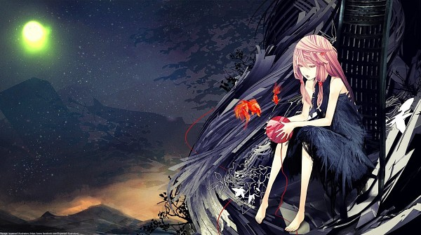 Tags: Anime, redjuice, Supercell, GUILTY CROWN, Yuzuriha Inori, Ball of Yarn, Extra terrestrial Biological Entities, EGOIST, Official Art, Facebook Cover