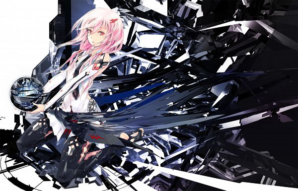 Tags: Anime, redjuice, Supercell, GUILTY CROWN, GUILTY CROWN - Redjuice's Notebook, Yuzuriha Inori, Pixiv, EGOIST, Official Art