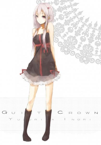 Tags: Anime, Kuwa (Katko), GUILTY CROWN, Yuzuriha Inori, Pixiv, Mobile Wallpaper, Fanart