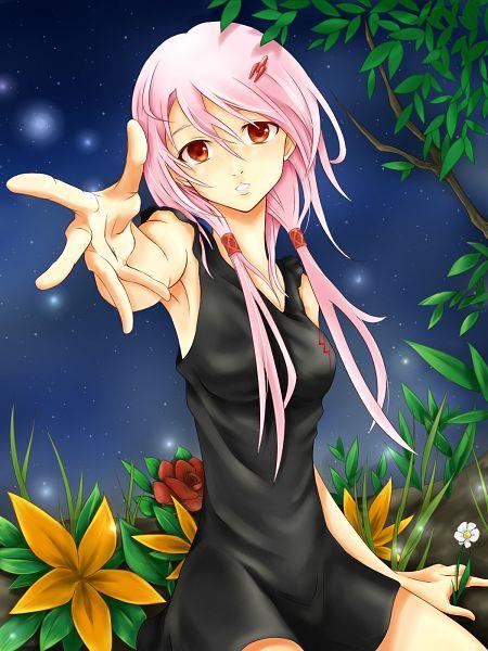 Tags: Anime, shun0316, GUILTY CROWN, Yuzuriha Inori, Pixiv, Fanart, Fanart From Pixiv