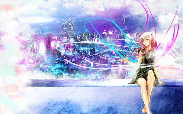 Tags: Anime, redjuice, GUILTY CROWN, Yuzuriha Inori, Wallpaper