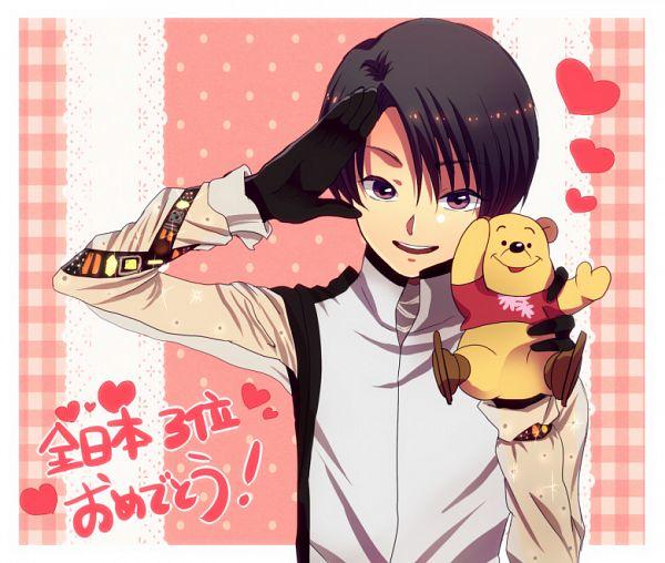 Tags: Anime, Pixiv Id 2750337, Winnie the Pooh, Yuzuru Hanyu, Pooh Bear, Disney, Pixiv, Fanart, Fanart From Pixiv