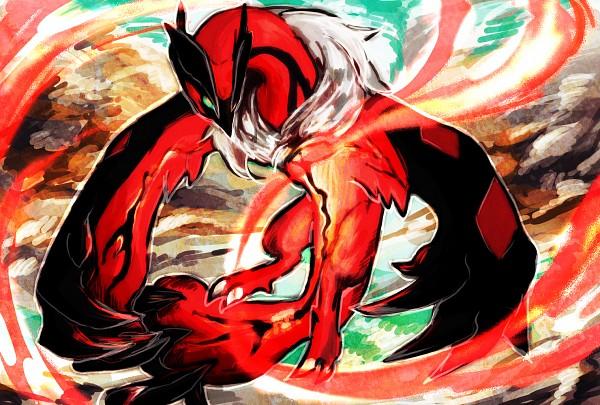 Tags: Anime, Pixiv Id 2190215, Pokémon, Yveltal, Pixiv, Fanart, Fanart From Pixiv, Legendary Pokémon