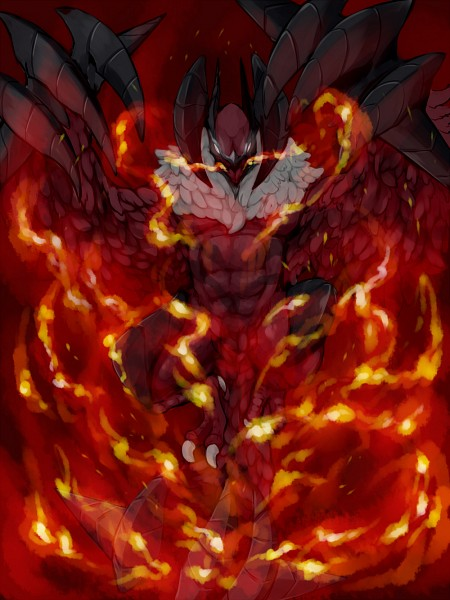 Tags: Anime, Pixiv Id 2289447, Pokémon, Yveltal, Fanart, Fanart From Pixiv, Legendary Pokémon, Pixiv