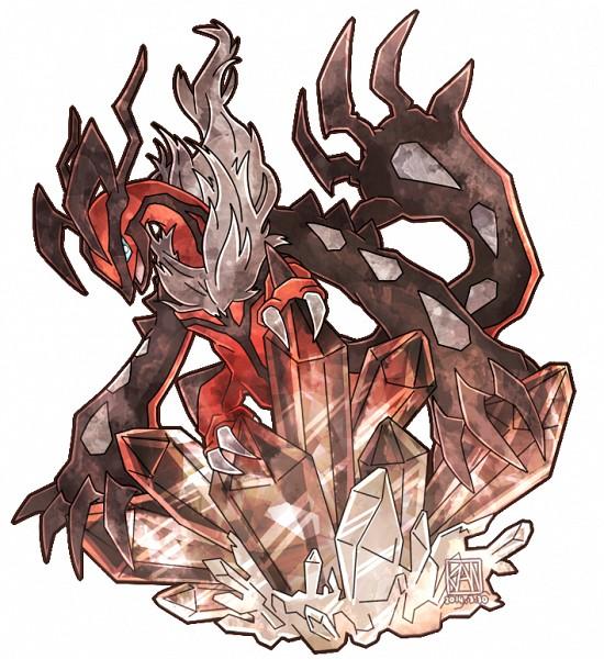 Tags: Anime, Pixiv Id 2433209, Pokémon, Yveltal, Fanart From Pixiv, Legendary Pokémon, Pixiv, Fanart