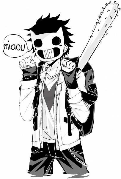 Tags: Anime, Zhineart, OFF (Game), Zacharie, Nailbat, Fanart, Tumblr, Mobile Wallpaper