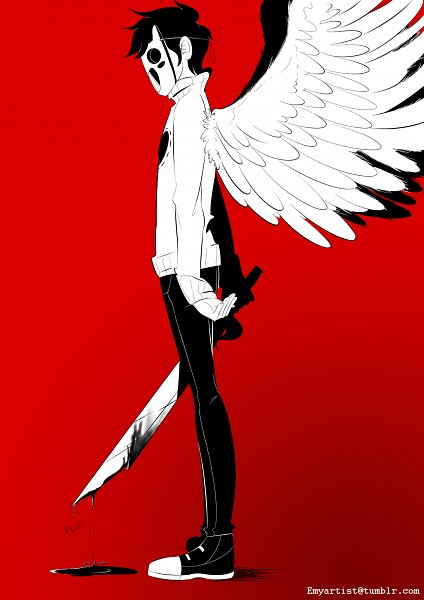 Tags: Anime, OFF (Game), Zacharie, Tumblr, Mobile Wallpaper