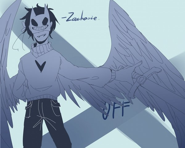 Tags: Anime, Pixiv Id 15731218, OFF (Game), Zacharie, Fanart, Fanart From Pixiv, Pixiv