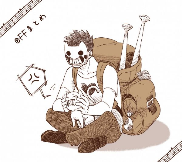 Tags: Anime, Pixiv Id 33395455, OFF (Game), The Judge (OFF), Zacharie, Pixiv, Fanart, Fanart From Pixiv