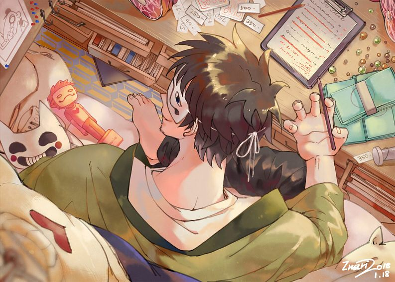 Tags: Anime, Pixiv Id 9713408, OFF (Game), Zacharie, Fanart From Pixiv, Pixiv, Fanart