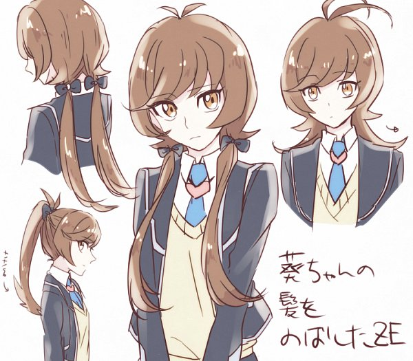 Tags: Anime, Pixiv Id 5431856, Yu-Gi-Oh! VRAINS, Yu-Gi-Oh!, Zaizen Aoi, Yellow Outerwear, Fanart From Pixiv, Pixiv, Fanart