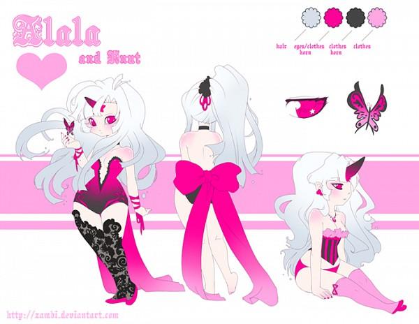 Tags: Anime, Zambicandy, deviantART, Character Sheet, Sketch