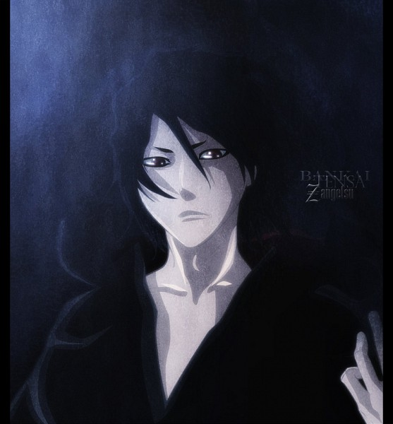 Tags: Anime, BLEACH, Zangetsu, Colorization, Zanpakutou