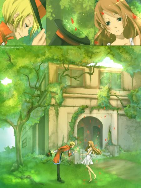 Tags: Anime, Zaphk, Bowing, Original