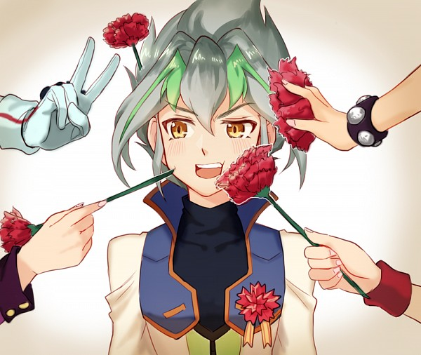 Tags: Anime, Pixiv Id 14069811, Yu-Gi-Oh! ARC-V, Yu-Gi-Oh!, Zarc, Looking At Hands, Fanart, Fanart From Pixiv, PNG Conversion, Pixiv
