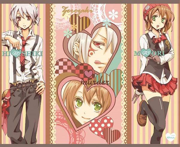 Tags: Anime, Pixiv Id 1846320, Zaregoto Series, Zerozaki Hitoshiki, Zerozaki Maiori, Pixiv, Fanart