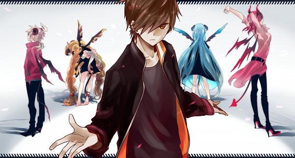 Tags: Anime, Hii101, Zaregoto Series, Boku (Zaregoto), Aikawa Jun, Omokage Magokoro, Kunagisa Tomo, Zerozaki Hitoshiki, Facebook Cover, Wallpaper