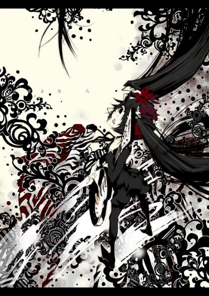 Tags: Anime, Karasu (Artist), VOCALOID, Zatsune Miku, Mobile Wallpaper
