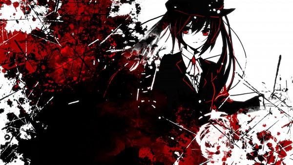 Tags: Anime, Sazanami Shione, VOCALOID, Zatsune Miku, Hatsune Miku, Explosion, Slender, Basic Colors, Fanart, Pixiv, Fanart From Pixiv, Facebook Cover