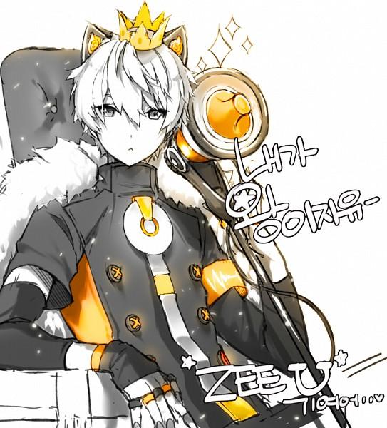 Tags: Anime, Pixiv Id 9569685, VOCALOID, ZeeU, Mini Crown, PNG Conversion, Pixiv, Fanart, Fanart From Pixiv