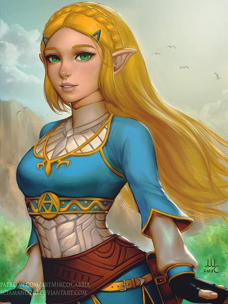 Tags: Anime, Sciamano240, Zelda no Densetsu: Breath of the Wild, Zelda no Densetsu, Zelda (Breath of the Wild), Princess Zelda