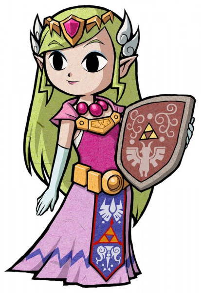 Zelda (Fushigi no Boushi) - Zelda no Densetsu: Fushigi no Boushi