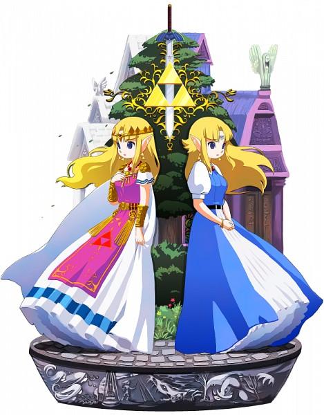 Zelda (Kamigami no Triforce) - Zelda no Densetsu: Kamigami no Triforce