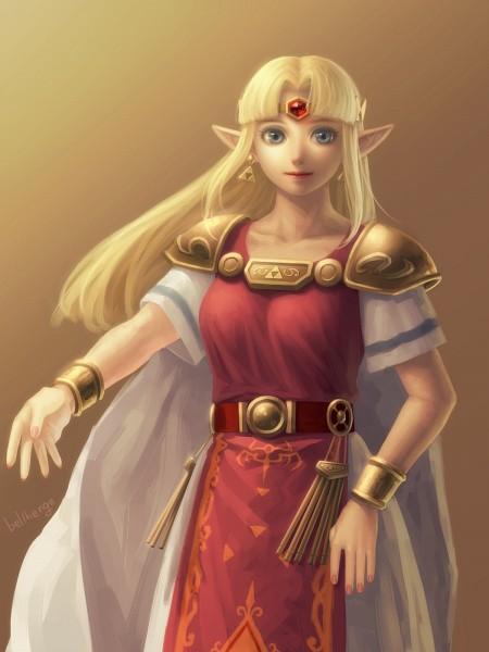 Zelda (Kamigami no Triforce 2) - Zelda no Densetsu: Kamigami no Triforce 2