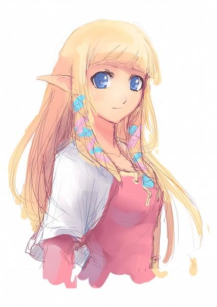 Tags: Anime, 2d75 (Artist), Zelda no Densetsu, Zelda no Densetsu: Skyward Sword, Zelda (Skyward Sword), Princess Zelda, deviantART, Fanart From DeviantART, Sketch, Fanart, Mobile Wallpaper