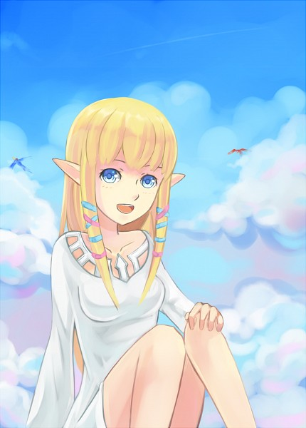Tags: Anime, ragecndy, Zelda no Densetsu, Zelda no Densetsu: Skyward Sword, Princess Zelda, Loftwing, Zelda (Skyward Sword), deviantART, Fanart From DeviantART, Fanart, Mobile Wallpaper