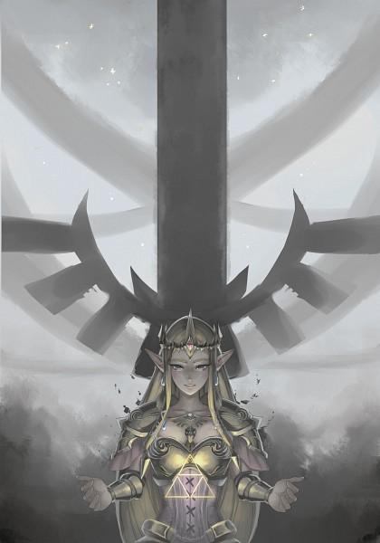 Tags: Anime, Hachiyuki, Zelda Musou, Zelda no Densetsu, Princess Zelda, Zelda (Zelda Musou), Mobile Wallpaper, deviantART, Fanart From DeviantART, Fanart